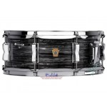 "Ludwig Legacy Mahogany ""Jazz Fest"" Snare Drum - 5.5"" x 14"" - Vintage Black Oyster"
