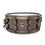 Mapex BPBR455IZN BLK Panther 14x5½ Brass Cat Snare Drum