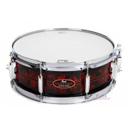 "Pearl CC1450S/C 14""x5"" Casey Cooper Igniter Red Gasket Snare Drum"