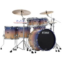 Tama Starclassic Walnut/Birch WBS52RZS-SAF 6-piece Shell Pack Purple Atmosphere Fade