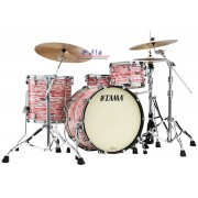 Tama Starclassic Maple MR42TZS-RWO 6-Piece Drum Shell Pack - Red and White Oyster