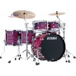 Tama Starclassic Walnut/Birch WBS52 RZS LPO 6-Piece Shell Pack - Lacquer Phantasm Oyster