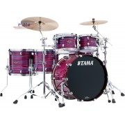 Tama Starclassic Walnut/Birch WBS62 RZS LPO 6-Piece Shell Pack - Lacquer Phantasm Oyster