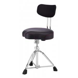 Pearl D3500BR Roadster Saddle Drum Throne with Backrest