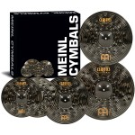 "Meinl Cymbals Classics Custom Dark Cymbal Box Set with Free 18"" Crash"