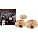 Meinl Cymbals MCS1618+10S MCS Crash Cymbal Set Pack with Free 10-Inch Splash