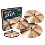 Paiste PST 7 Light / Session Cymbal Set + Thin Crash 18""
