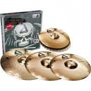 "Paiste Alpha B Metal Sets + Crash 18"" Cymbals"