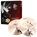 Cymbal Zildjian K Series K0800 Crash Ride Cymbal Pack