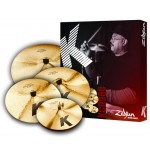 Zildjian KCD900 K Custom Dark 4-Piece Cymbal Box Set