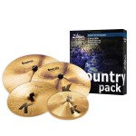 Zildjian K0801C Country K Custom Cymbal Set