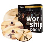 Zildjian KC0801W Worship K Custom Cymbal Set