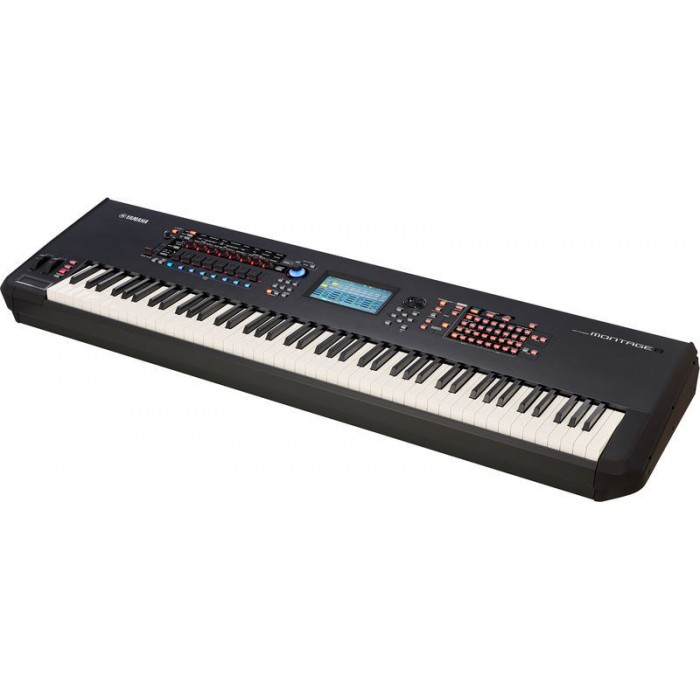 jual yamaha montage 8 88 key flagship synthesizer