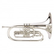 King SB20SP K20 Series Marching F Mellophone Silver
