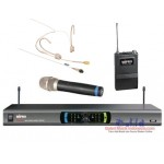 Mipro MR 823 Handheld + Headset (MU 55 HNS) Wireless Microphone
