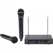 Samson Stage 212 Frequency-Agile Dual Mic Wireless System