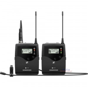 Sennheiser EW 512P G4 Portable Wireless Lavalier Microphone System - GW1 Band