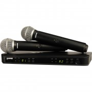 Shure BLX288/SM58 Dual Channel Handheld Wireless System