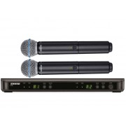 Shure BLX288/BETA 58A Dual-Channel Wireless System