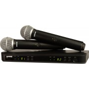 Shure BLX288/PG58 Dual-Channel Wireless System