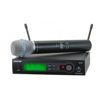 Shure SLX24/BETA87A Wireless Mic System