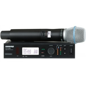 Shure ULXD24/BETA87 Handheld Wireless System