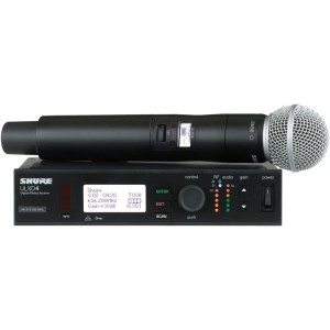 Shure ULXD24/SM58 Handheld Wireless System
