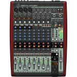 Behringer Xenyx UFX1204 Mixer and USB Audio Interface with Effects