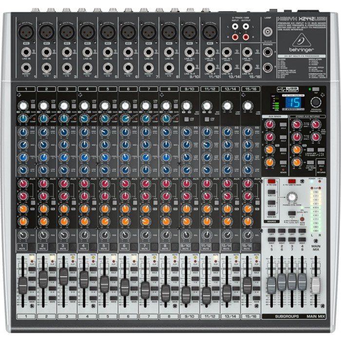 jual behringer xenyx x2442usb usb mixer with effects. Black Bedroom Furniture Sets. Home Design Ideas