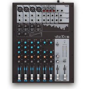 LD Systems VIBZ10C 10 Channel Mixing Console with Compressor