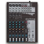 LD Systems VIBZ8DC 8 Channel Mixing Console With DFX and Compressor