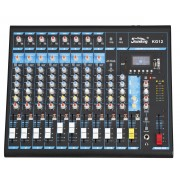 Soundking KG12 12-input Professional Audio Mixing Console with MP3/USB/SD Audio Recording