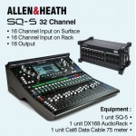 Allen & Heath SQ-5 32 Channel Digital Mixer