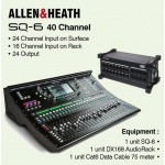Allen & Heath SQ-6 40 Channel Digital Mixer