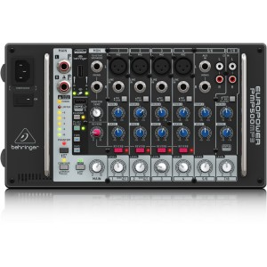 Behringer PMP500MP3 500-Watt 8-Channel Powered Mixer with MP3 Player