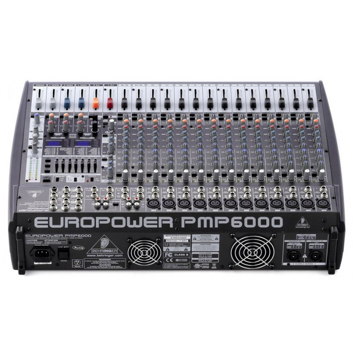 jual behringer europower pmp6000 20 channel powered mixer. Black Bedroom Furniture Sets. Home Design Ideas