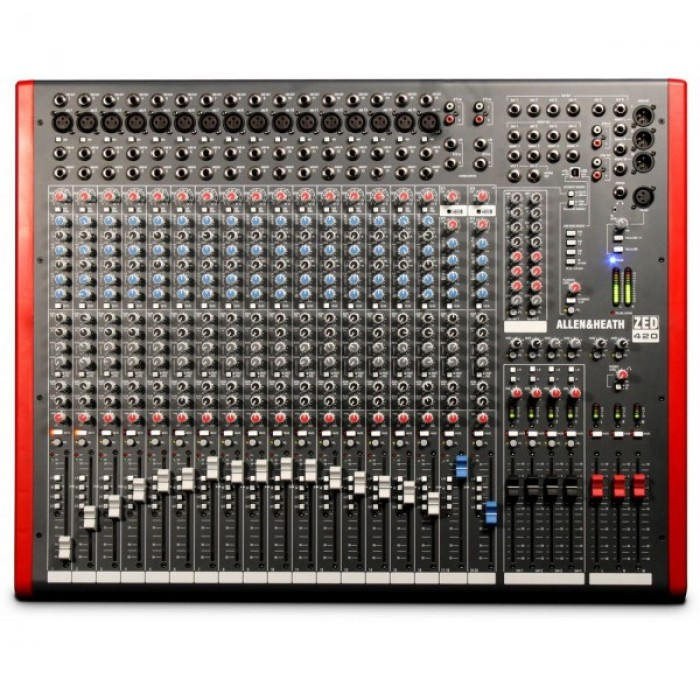 Jual Allen Amp Heath ZED 420 16 Channel USB Mixer