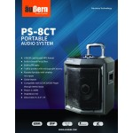 Aubern PS8CT Portable Amplifier Wireless