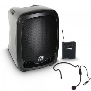 LD Systems Roadboy 65 HS Active Portable PA Speaker with Headset Microphone