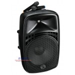Wharfedale Pro EZ-12A 100W Portable PA System with 2 Wireless Microphone and Bluetooth