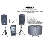 Ashley PPS1P2-210 Portable PA Sistem