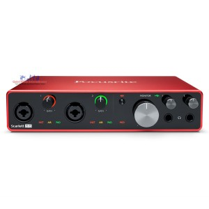 Focusrite Scarlett 8i6 USB Audio Interface (3rd Gen)