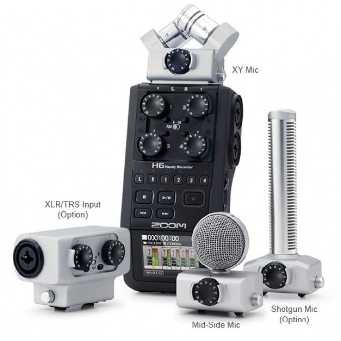 Jual Zoom H6 Handy Recorder Plus Accessories