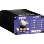 Sabine FBX SM820 Digital Feedback Eliminator XLR