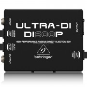 Behringer Ultra-DI DI600P 1-channel Passive Microphone / Instrument Direct Box