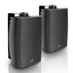 "LD Systems Contractor CWMS 52 B 5.25"" 2-way Wall Mount Speaker Black (pair)"