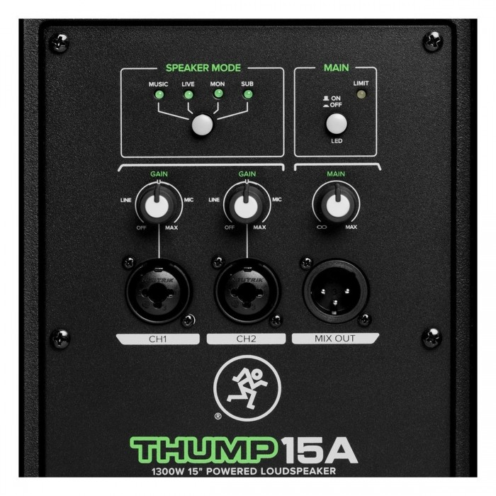 Jual Mackie Thump Th15a 1300w 15 Quot Powered Speaker